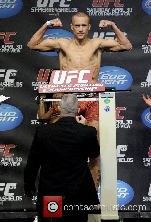 Official weigh-ins for UFC 129: St-Pierre vs. Shields...