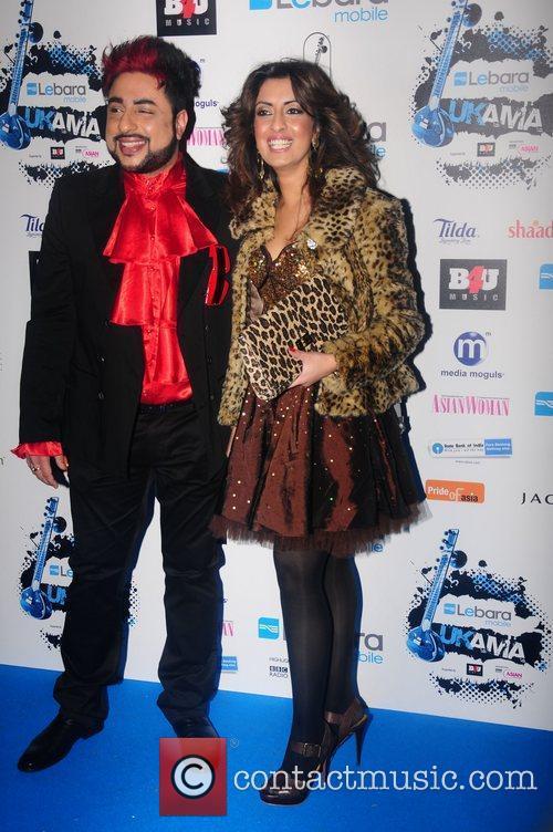 Noreen Khan, Guest UK Asian Music Awards 2011...