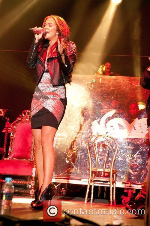 Tulisa Contostavlos of N-Dubz The Ultrasound Music Festival...
