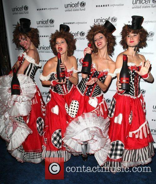 Can Can Dancers 2nd Annual UNICEF Masquerade Ball...