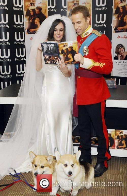 British Royal look-a-likes attend the launch of Alison...