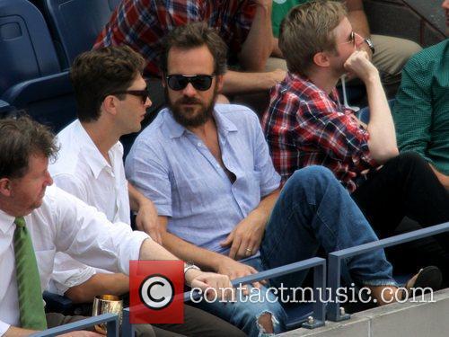 Peter Sarsgaard, Novak Djokovic and Rafael Nadal 2