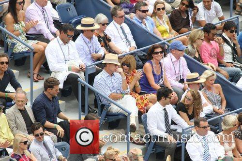 The US Open tennis semi-final match between Roger...