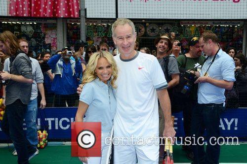 Kristin Chenoweth and John Mcenroe 11