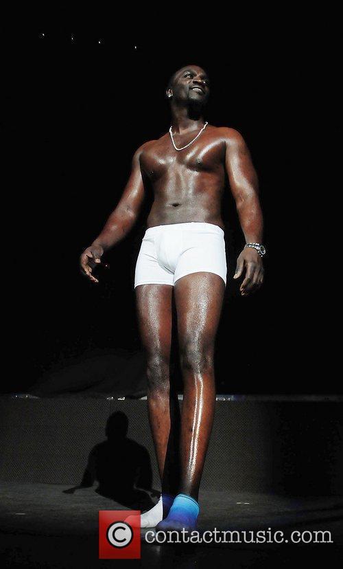 Akon and Usher 9