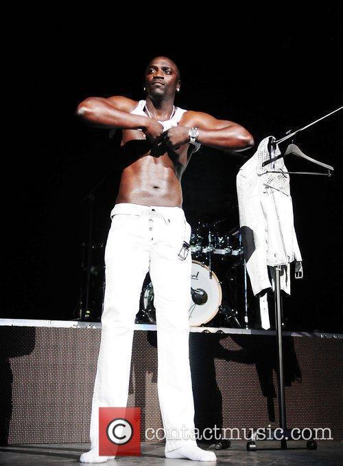 Akon and Usher 7