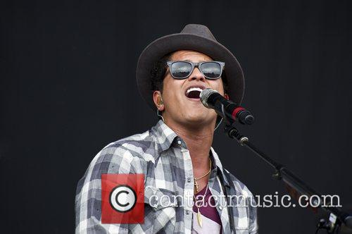 Bruno Mars V Festival at Hylands Park -