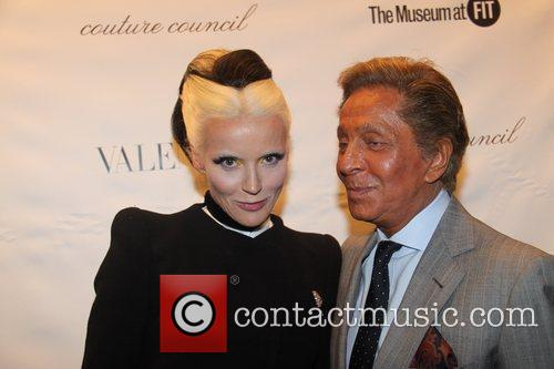 Daphne Guinness and Valentino 3