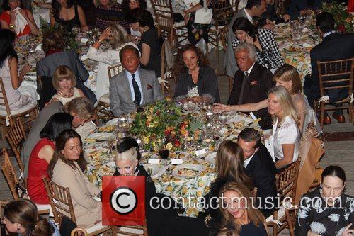 Daphne Guinness, Anna Wintour, Diane Von Furstenberg and Valentino 10