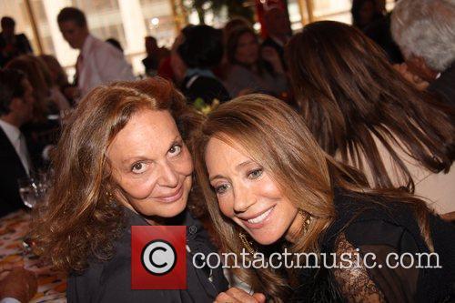 Diane Von Furstenberg and Marisa Berenson 2
