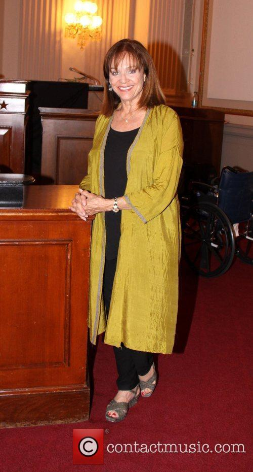Valerie Harper out and about on Capitol Hill...
