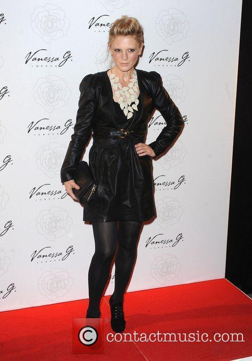 Emilia Fox arriving at the launch party for...