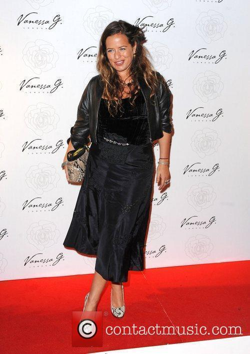 Jade Jagger arriving at the launch party for...