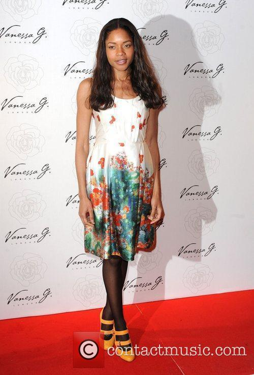 Naomie Harris arriving at the launch party for...