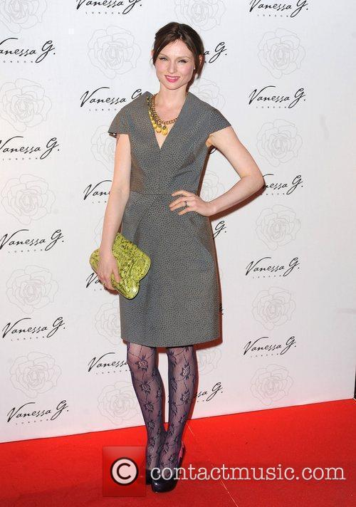 Sophie Ellis Bextor arriving at the launch party...
