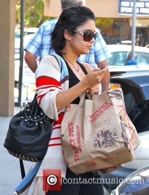 Leaving Trader Joe's in Studio City after shopping...