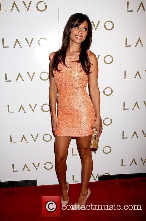Celebrates her Bachelorette Party at Lavo Nightclub at...