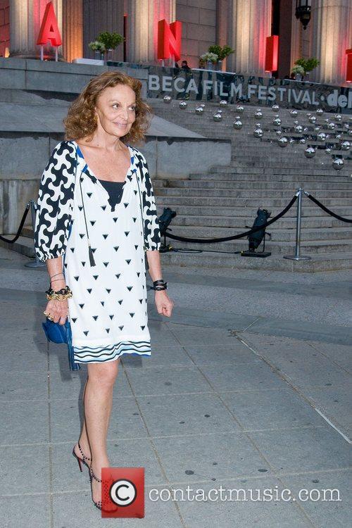 Diane von Furstenberg 2011 Tribeca Film Festival Vanity...