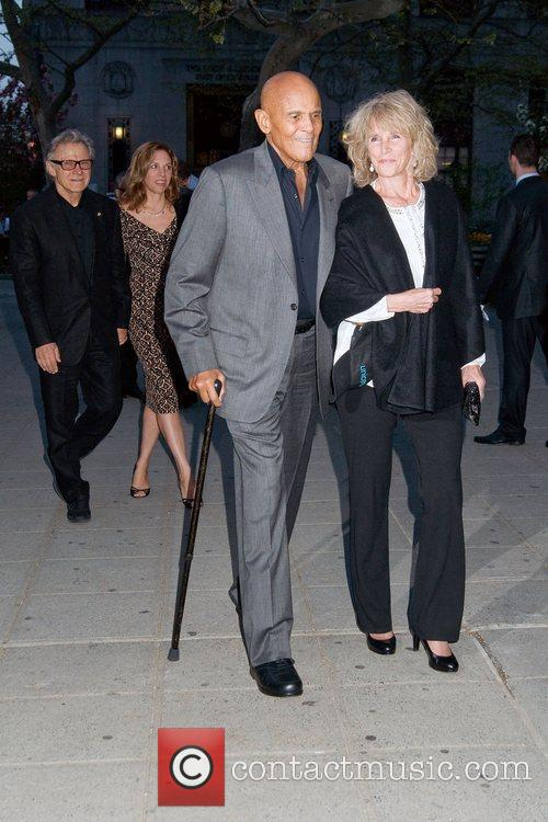 Harry Belafonte and Pamela Belafonte 2011 Tribeca Film...