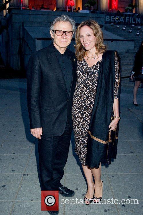 Harvey Keitel and Dapha Kastner 2011 Tribeca Film...