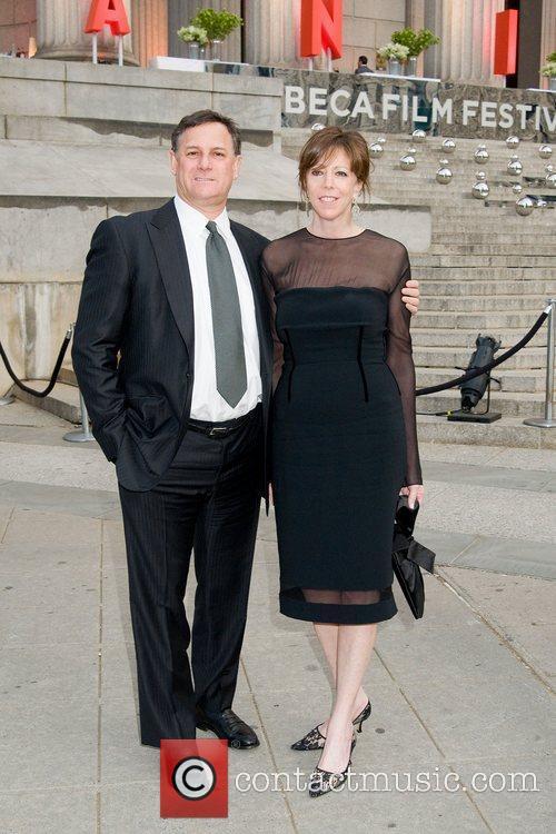 Craig Hatcoff and Jane Rosenthal 2011 Tribeca Film...