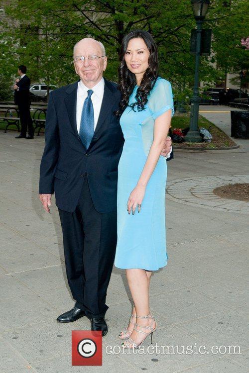 Rupert Murdoch and Wendi Deng 2011 Tribeca Film...