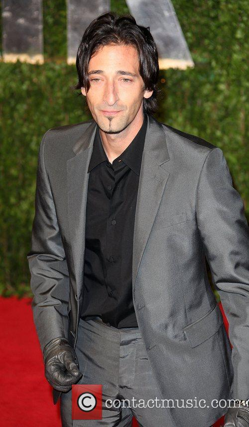 Adrien Brody 2011 Vanity Fair Oscar Party at...