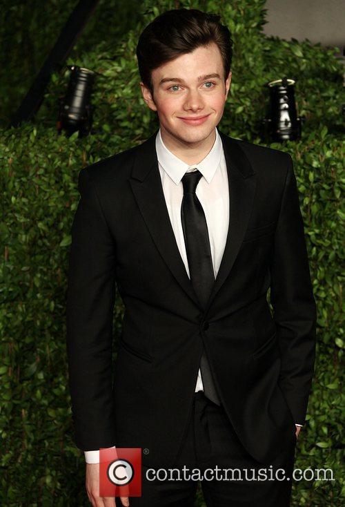 Chris Colfer 2011 Vanity Fair Oscar Party at...