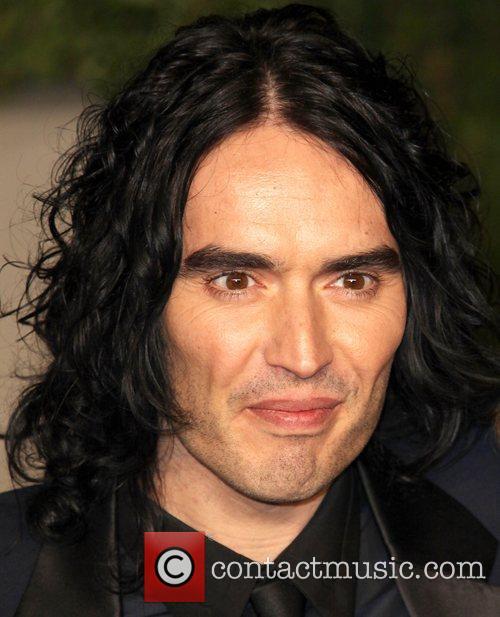 Russell Brand  2011 Vanity Fair Oscar Party...