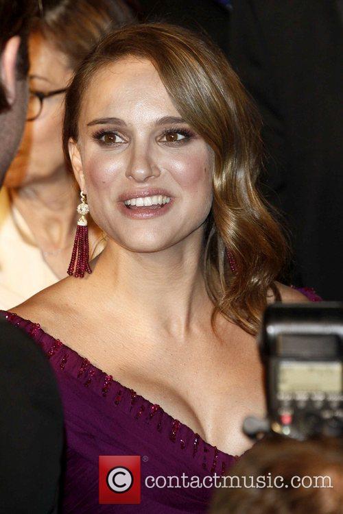 Natalie Portman 2011 Vanity Fair Oscar Party at...