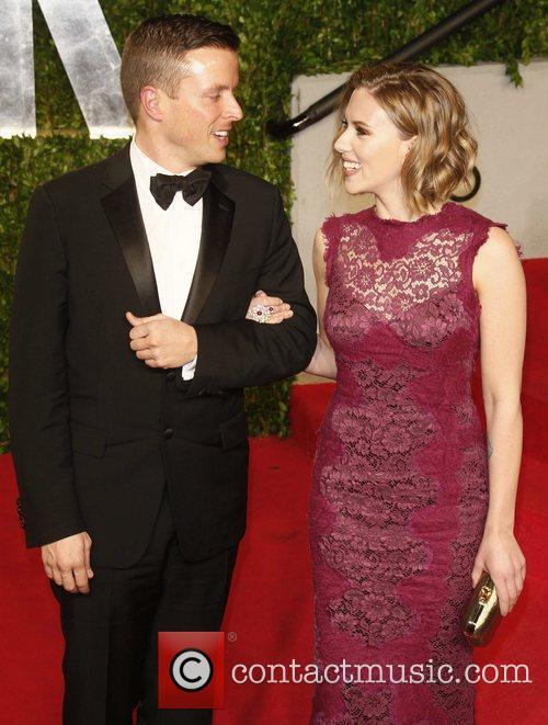 Guest and Scarlett Johansson 2011 Vanity Fair Oscar...