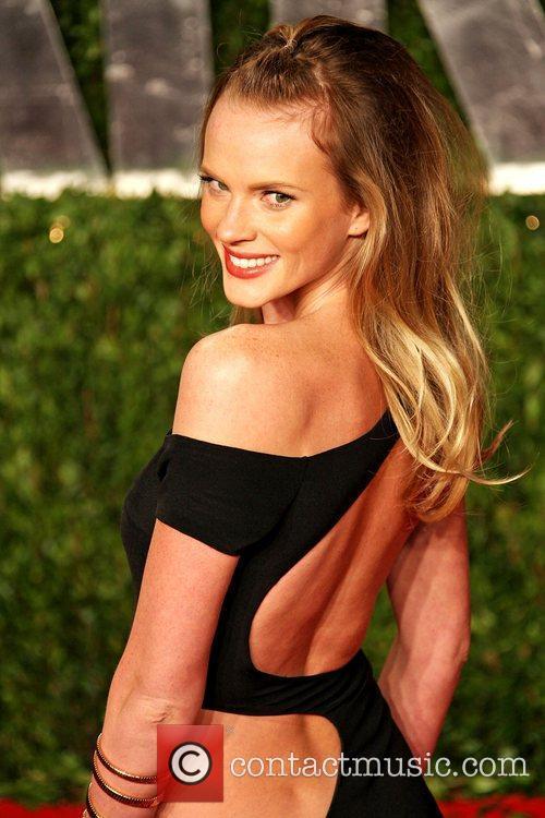 Anne V 2011 Vanity Fair Oscar Party at...