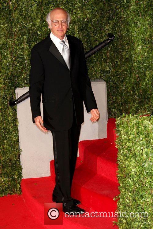 Larry David 2011 Vanity Fair Oscar Party at...