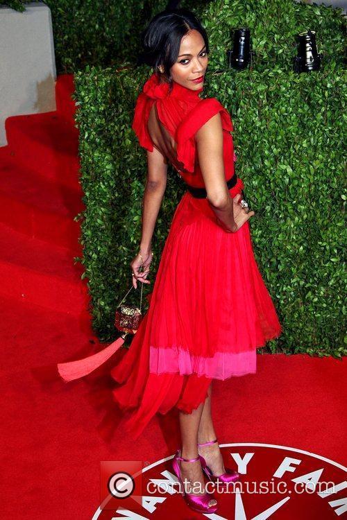 Zoe Saldana and Vanity Fair 1