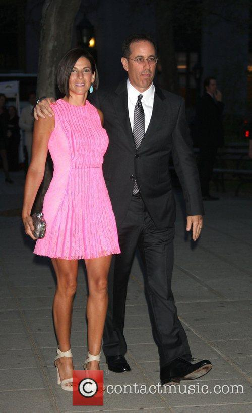Jerry Seinfeld and Jessica Seinfield,  2011 Tribeca...