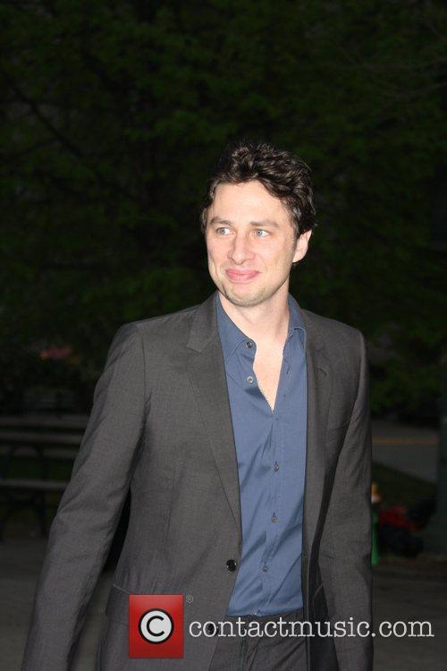 Zach Braff,  2011 Tribeca Film Festival Vanity...