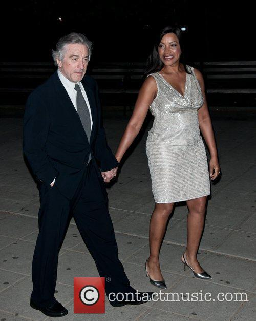 Robert De Niro, Grace Hightower  2011 Tribeca...