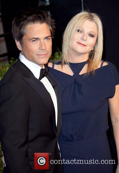 Rob Lowe and Sheryl Berkoff 2011 Vanity Fair...