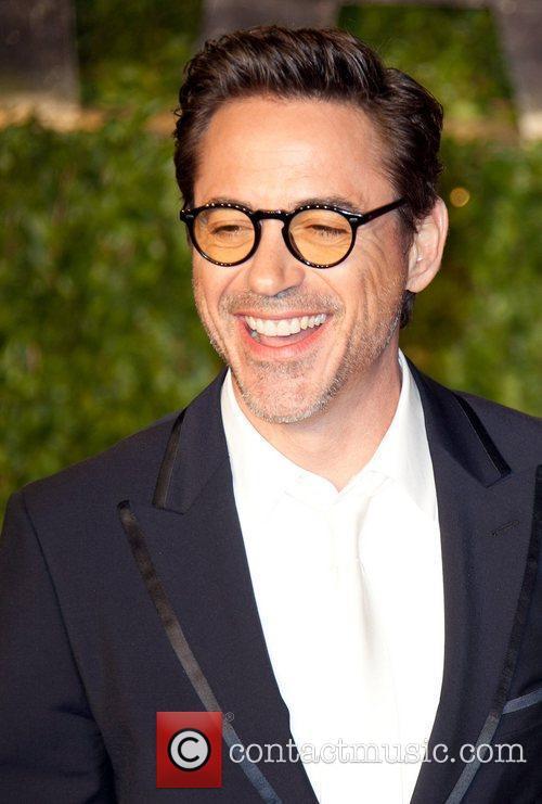 Robert Downey Jr. 2011 Vanity Fair Oscar Party...