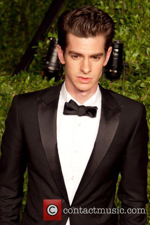 Andrew Garfield 2011 Vanity Fair Oscar Party at...