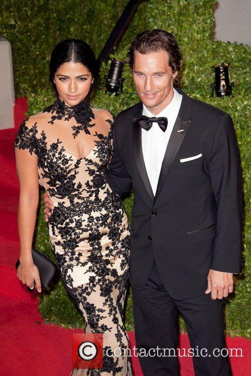 Camila Alves, Matthew Mcconaughey and Vanity Fair 2