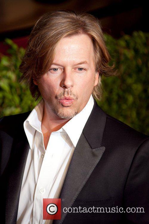 David Spade 2011 Vanity Fair Oscar Party at...
