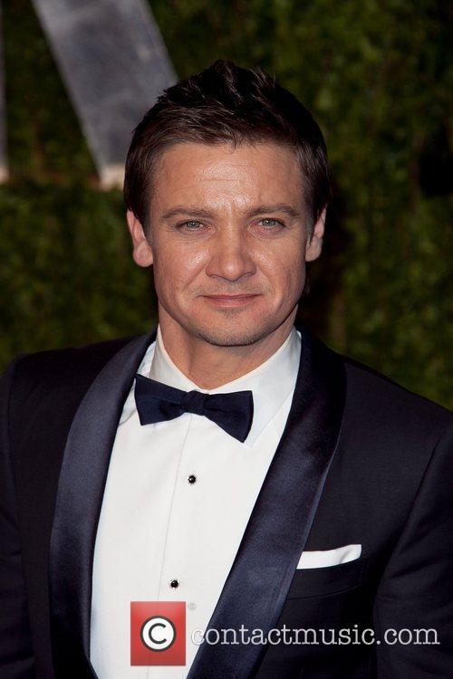 Jeremy Renner 2011 Vanity Fair Oscar Party at...