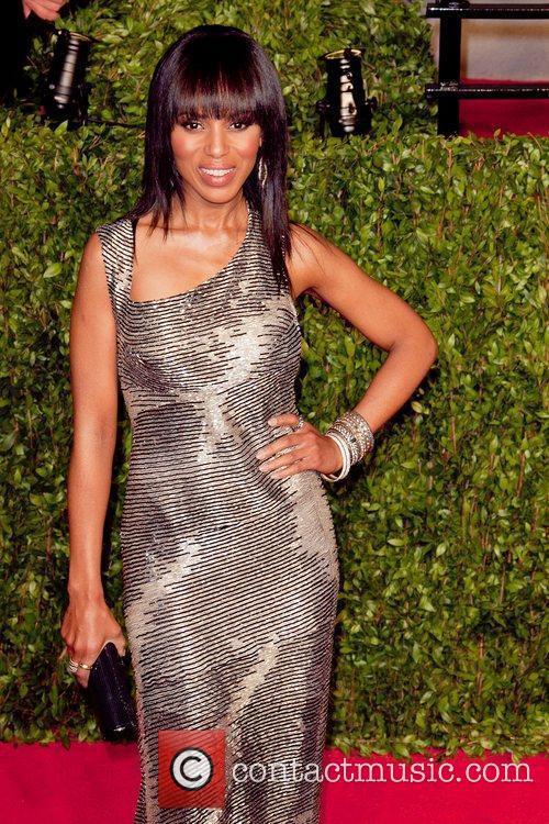 Kerry Washington 2011 Vanity Fair Oscar Party at...