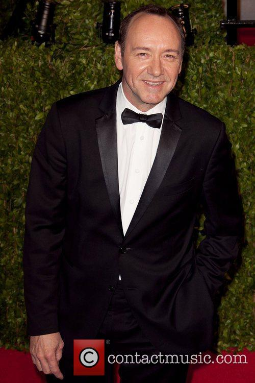 Kevin Spacey 2011 Vanity Fair Oscar Party at...