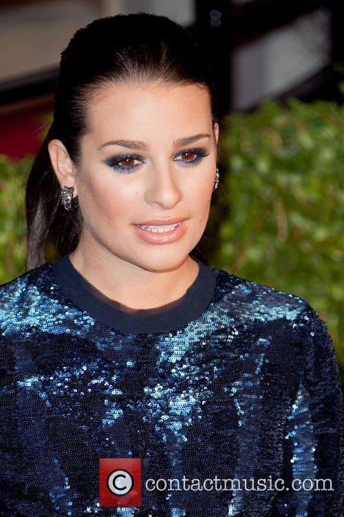 Lea Michele 2011 Vanity Fair Oscar Party at...