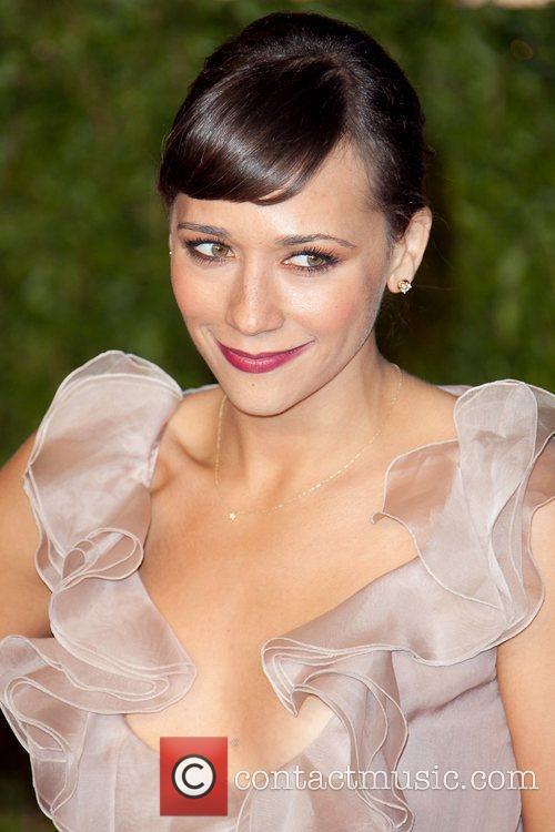 Rashida Jones 2011 Vanity Fair Oscar Party at...