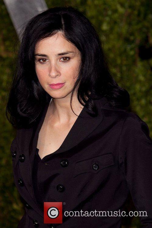 Sarah Silverman 2011 Vanity Fair Oscar Party at...