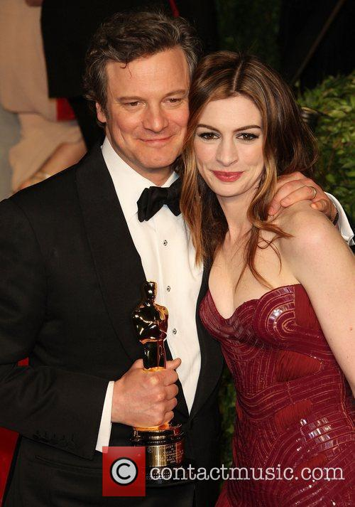 Colin Firth, Anne Hathaway and Vanity Fair 2