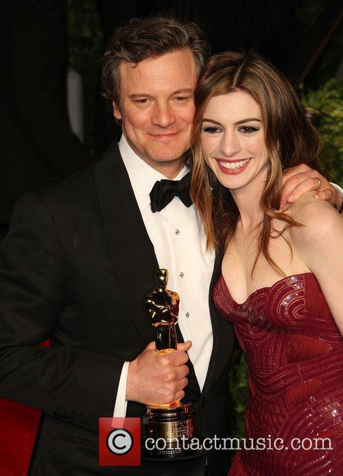 Colin Firth, Anne Hathaway and Vanity Fair 1